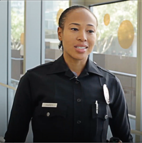 Officer Asia Hardy