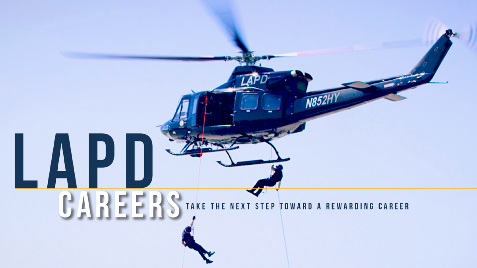 CAREER LADDERS | Join LAPD