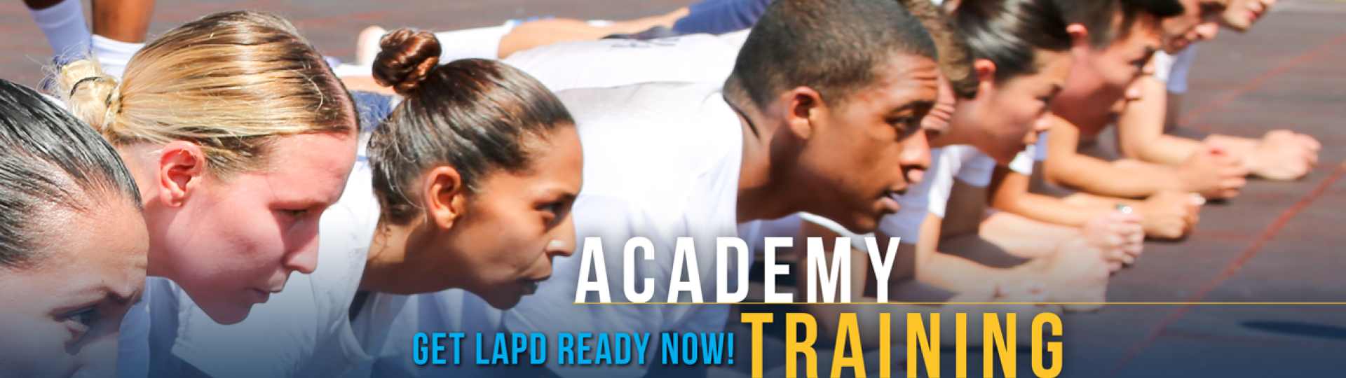 ACADEMY PHYSICAL TRAINING PROGRAM | Join LAPD